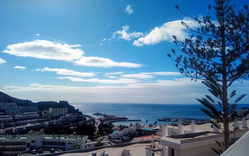 Fabuloso apartamento tipo estudio en Puerto Rico con vistas al mar