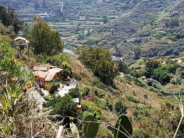 Romantic Finca with house and caves near Teror