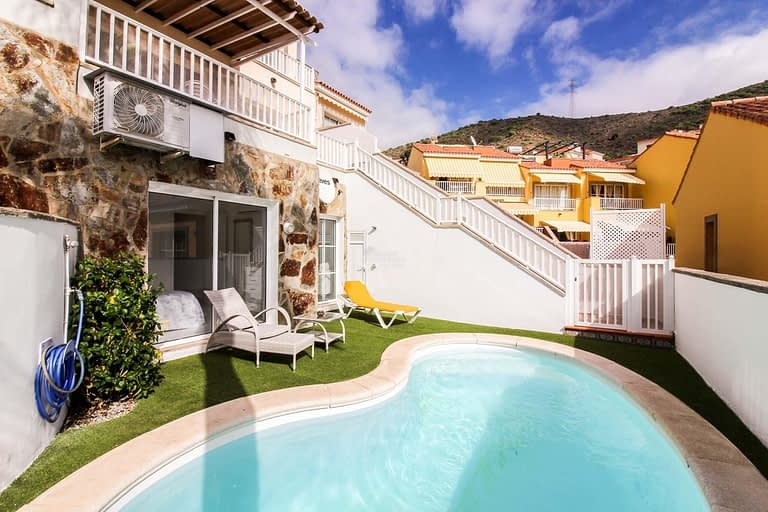 1 Bedroom apartment with private pool in Arguineguín