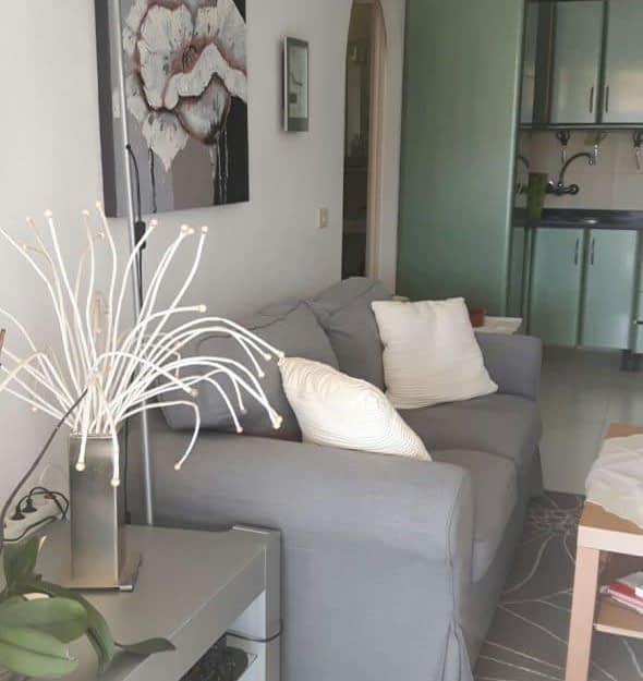 Apartamento de un dormitorio con vistas al mar en Playa Del Cura