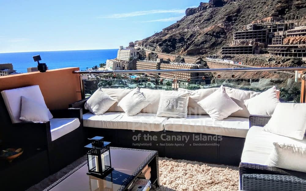Beautiful 1 Bedroom Apartment with Spectacular Views in Taurito