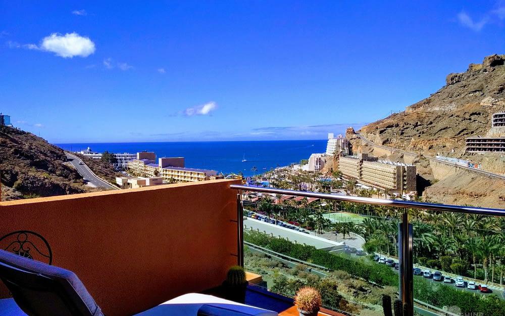 Fabuloso apartamento de 1 dormitorio con vistas espectaculares en Taurito.